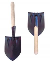 Лопата саперная (складная, с ручкой)