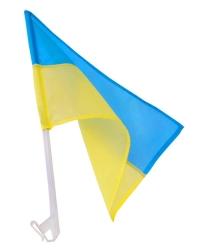 Флажок Украины с крепежом