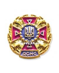 Эмблема ДСНС Украины. Золото