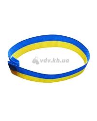 Браслет-напульсник «Флаг Украины» текстильный