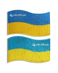Нашивка «Флаг Украины» фигурная