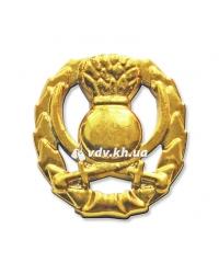 Эмблема общевойсковая старая. Золото