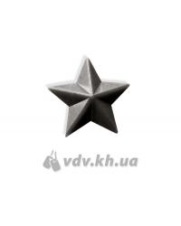 Звезда младшего офицерского состава. Хаки, d=13 мм