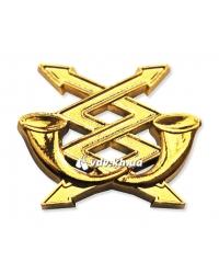 Эмблема связи. Золото
