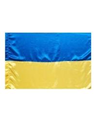 Флаг Украины из атласной ткани
