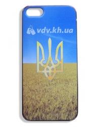 Пластиковый чехол для Apple iphone 4 4S с украинской символикой
