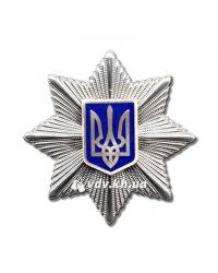 Кокарда Национальной полиции Украины