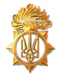 Новый беретный знак Национальной Гвардии Украины. Золото