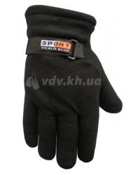 Перчатки зимние флисовые «Sport» двойные