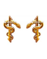 Эмблема медицинской службы (пара). Золото
