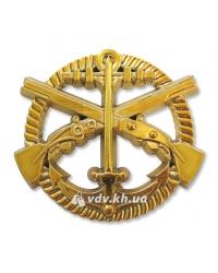 Беретный знак Морской пехоты Украины