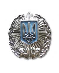 Кокарда МВД Украины. Серебро