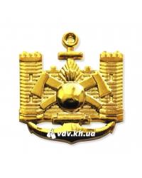 Эмблема инженерных войск. Золото