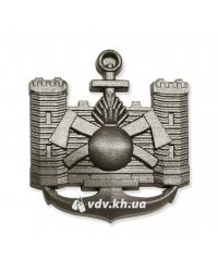Эмблема инженерных войск. Хаки