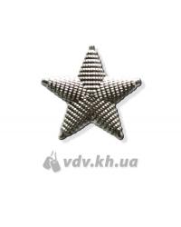Звезда генеральская. Серебро, d=26 мм