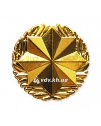 Эмблема Военной службы правопорядка. Золото