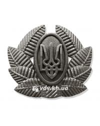 Кокарда общевойсковая рядовых и сержантов. Хаки